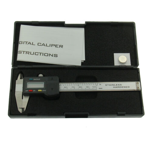 Digital Electronic Millimeter Gauge Gemstone Caliper 100mm Stainless Steel