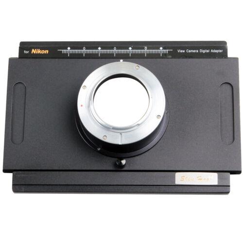 Nikon DF D4 D7000 DSLR Digital Back Adapter For 4x5