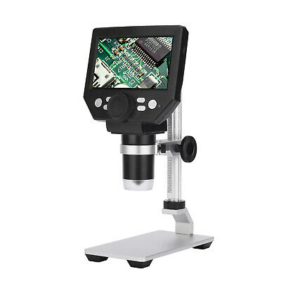 4.3 Electronic Lcd Digital Video Microscope 8mp 1000x Amplification Magnifier