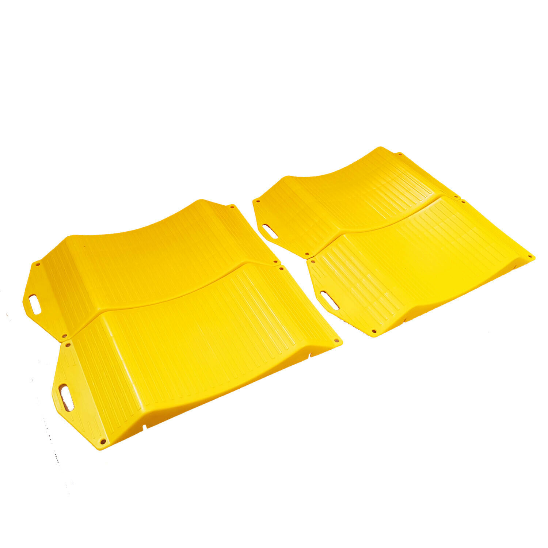 Car Parts - 4 (2 pair) x TYRE WHEEL SAVERS - STOP FLAT SPOTS caravan motorhome car van
