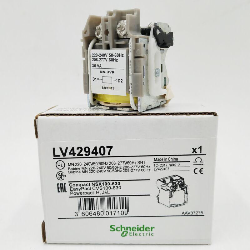 LV429407 MN Unterspannungsfreilösung ComPact NSX MCB Spannung 220-240V 50/60Hz
