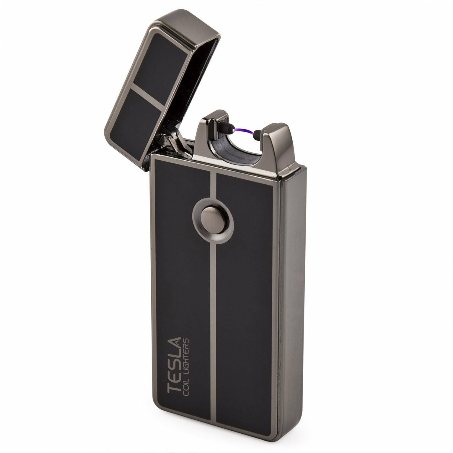 Tesla Coil LightersTM USB Rechargeable Lighter Windproof Arc