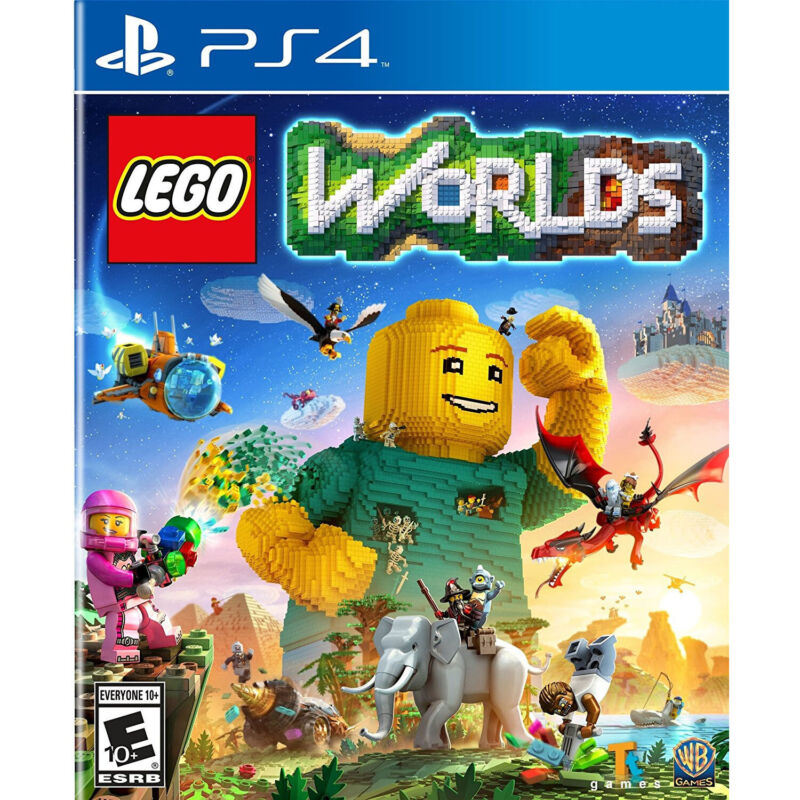 LEGO Worlds PS4 [Factory Refurbished]