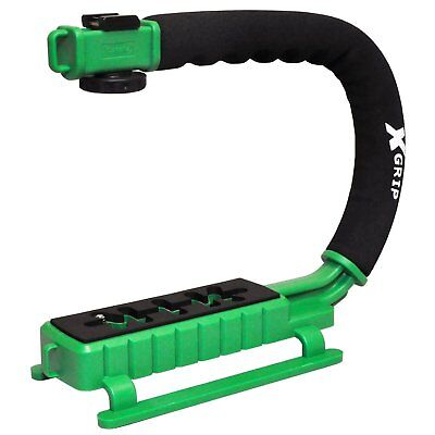 Opteka X-GRIP Action Stabilizer Handle for Digital Cameras & Camcorders (Green)