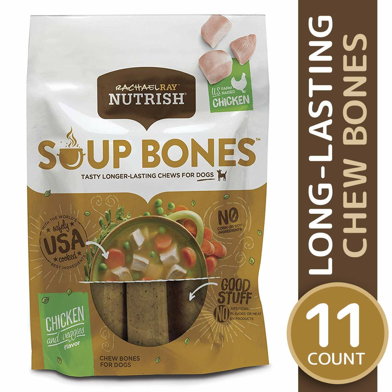 soup bones dog treats longer lasting regular