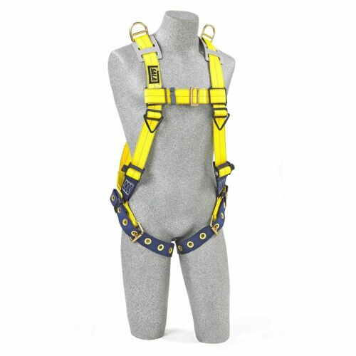 3M DBI-SALA Delta 1101254 Vest Style Harness, with Shoulder D-Rings, Tongue Buck
