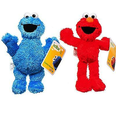 2pc Elmo and Cookie Monster 8