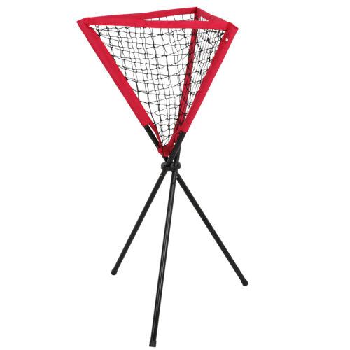 Portable Ball Caddy Tripod Stand Baseball Softball Hitting Trainning Aids W/ Bag Baseball & Softball