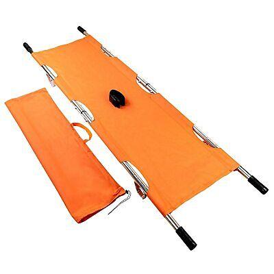 Line2design Folding Stretcher - Ems Emergency Medical Portable Stretcher Orange