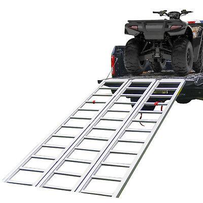 Tri-Panel Aluminum Full-Width ATV/UTV Ramp