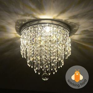 Modern crystal chandelier ebay pendant ceiling lamp crystal ball fixture light chandelier flush mount lighting aloadofball Gallery