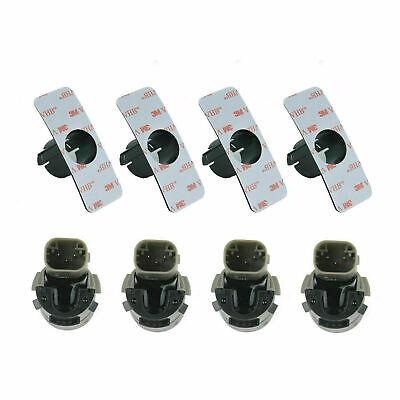 4*PDC Sensor Parksensor+4*Halter für BMW E46 E39 E60 E63 E38 E65 X3 X5 Z4 NEU