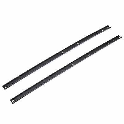 For 2009-2017 Chevrolet Traverse Roof Rack Side Rail Package Black 2 PCS Pair