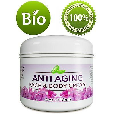 Anti Aging Cream for Face & Body Best for Wrinkles Scars Blemishes 100%