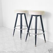 Vintage Metal Kitchen Chairs