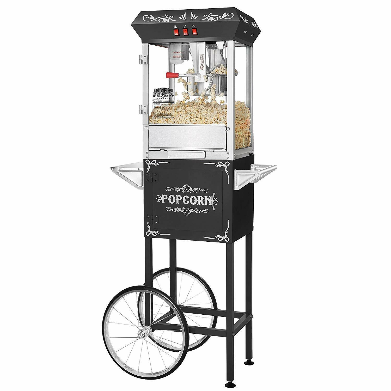 Great Northern Black Foundation 8oz Full Popcorn Popper Mach