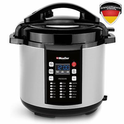 MUELLER Electric Pressure Cooker 10-in-1 Pro Series 6 Quart (See Note)