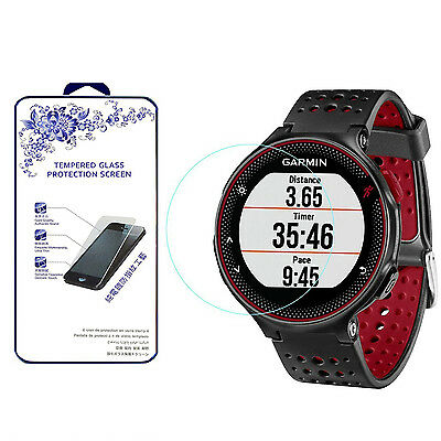 For Garmin Forerunner 225 220 230 235 HD [Tempered Glass] Screen Protector