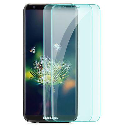 2x Curved Displayschutz Glas für Samsung Galaxy S8 - 9H-Panzer Glasfolie Cover