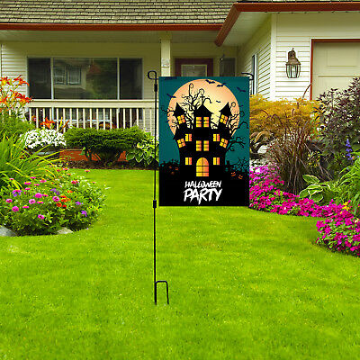 Halloween Party Garden Flag, 12