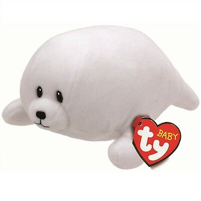 Ty Beanie Babies 32161 Tiny the White Seal