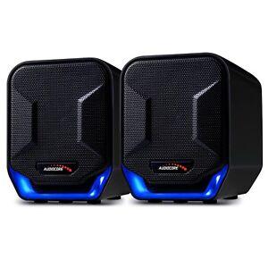 Multimedia Stereo Speakers System Portable USB PC Laptop Computer Desktop NEW