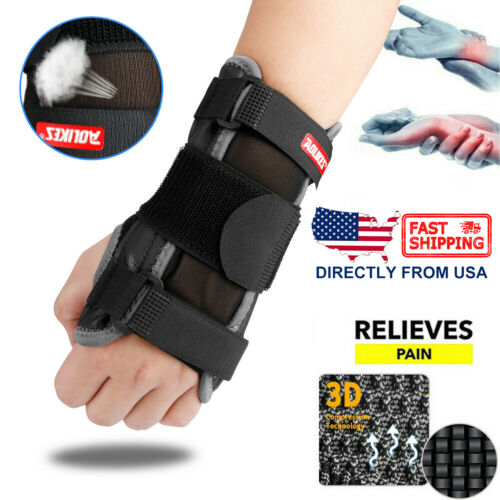 Wrist Support Hand Brace Carpal Tunnel Splint Arthritis Prot