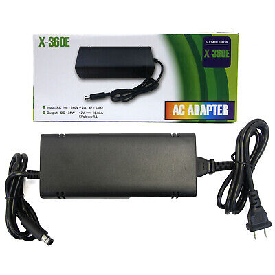 Xbox 360 E - AC Adapter 100-240V Hexir (Power Brick Adaptor Charger Cord) for sale  Shipping to India
