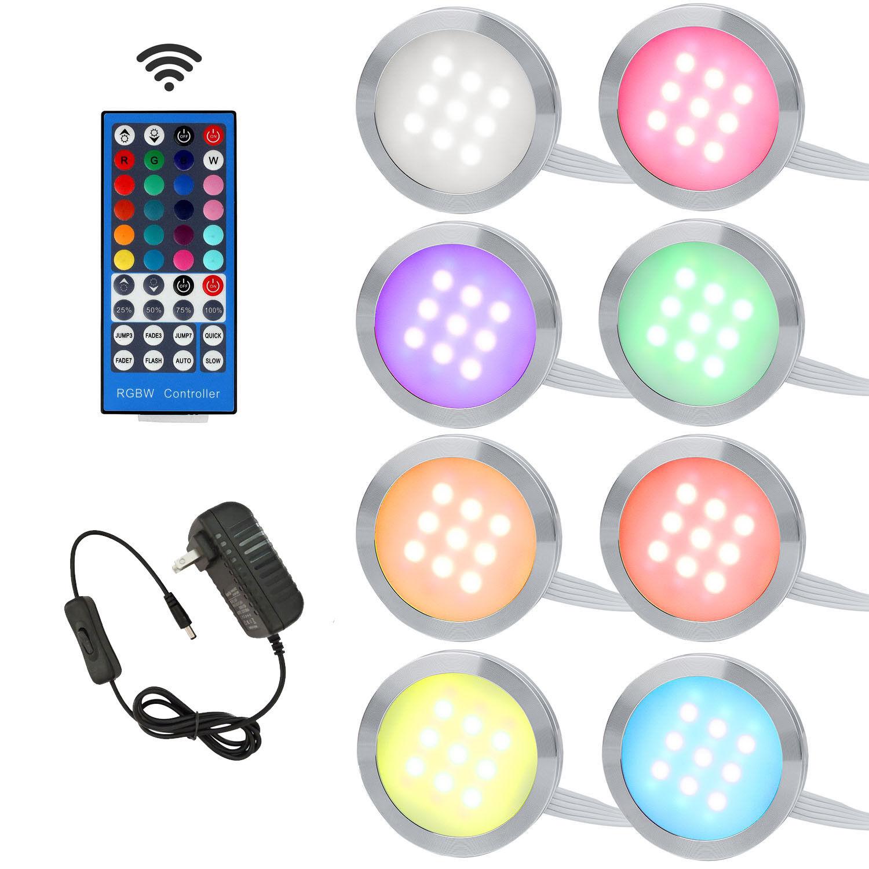 AIBOO LED RGBW RGB+White RGB + Warmwhite Under Cabinet Light