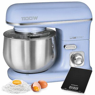 Robot cocina batidora amasadora reposteria 5L 1100W retro vintage azul KM 6030