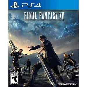 Final Fantasy XV (15) PS4. Excellent condition. Caloundra Caloundra Area Preview