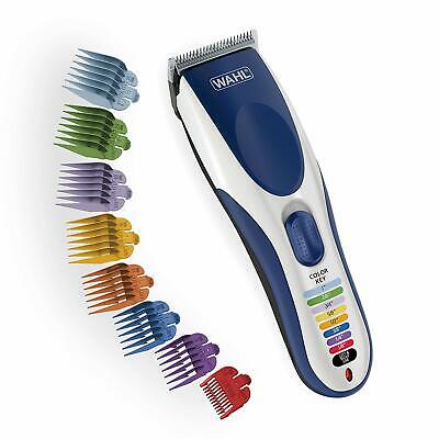 Wahl Color Pro Cordless Rechargeable Hair Clipper & Trimmer – Easy Color-Coded