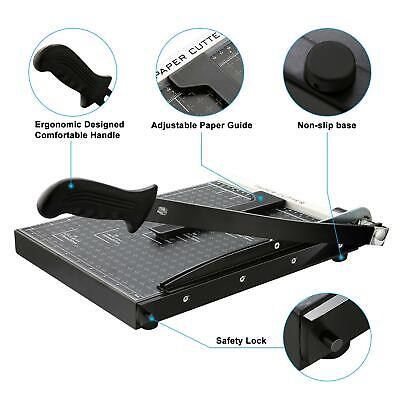 A4 Paper Trimmer Heavy Duty Professional Office Home Guillotine Paper Cutter Us
