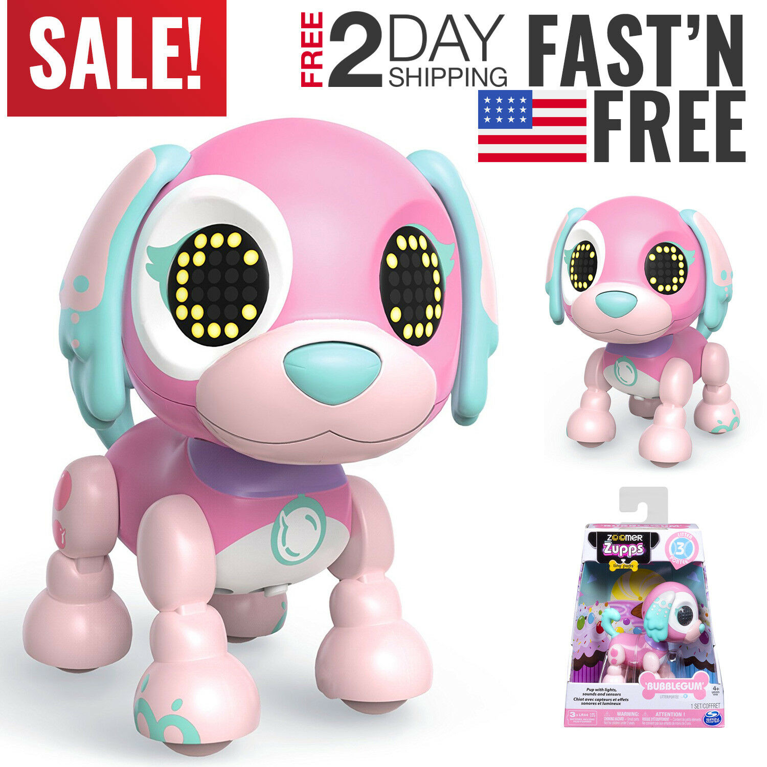 Toys For Girls Robot Kids Toddler Robot 4 5 6 7 8 9 Year Old Age