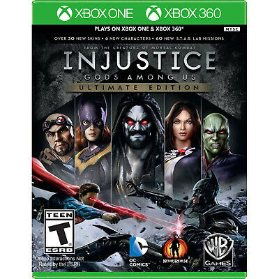 Injustice: Gods Among Us - Ultimate Edition Xbox 360 [Brand New]