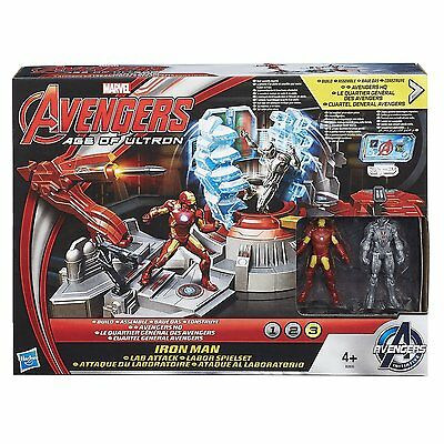 Marvel Avengers Age of Ultron Ironman Lab Attack Ages 4+ New Toy Iron Man Hasbro
