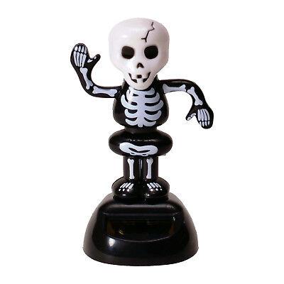 Solarfigur Skelett Solar Figur Halloween Skelett Wackelfigur Tod - Halloween Skelett Dekoration