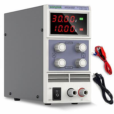 Dc Power Supply Variable 0-30v 0-10a Adjustable Regulated Switching Power Sup