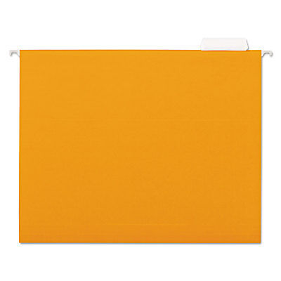 Universal Hanging File Folder 15 Tab Letter Orange 25bx 14122