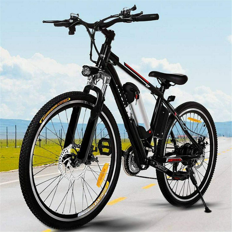 2019 Upgraded Electric Mountain Bike 250W 26'' Shimano Bicyc