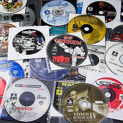 PS1 Spiele zum Aussuchen: Lose / Einzelne Discs / CDs Playstation Spiele Psone online kaufen