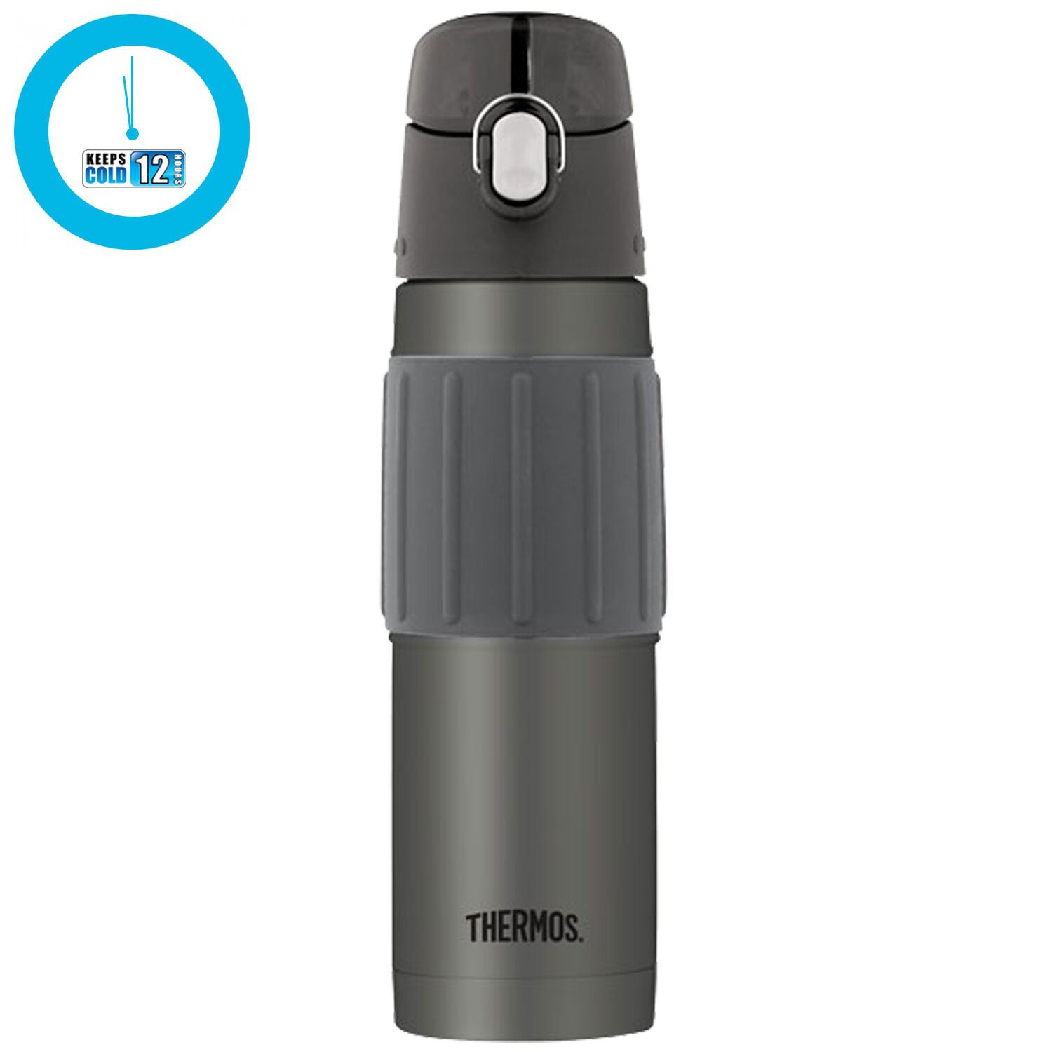 THERMOS HS4040CH6 18-oz Stainless Steel Hydration Bottle