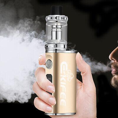 Starter Kit Electronic E Cigarette E Cig Vape Pen 100W 2200mAh Box Mod Shisha
