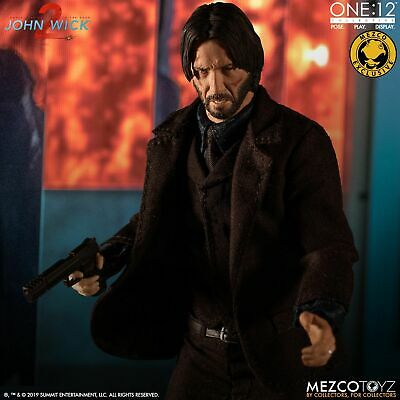 Mezco One:12 Collective JOHN WICK Chapter 2 Deluxe Edition CONFIRMED IN STOCK!!