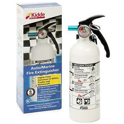 Kidde 1 Pack Fire Extinguisher 5-bc 3-lb Car Boat Home Office Safety Disposabl