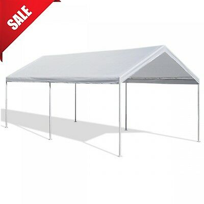 Caravan Canopy Carport Tent 10x20' Portable Garage Car Port Shelter Heavy (10 X 20 Car Canopy)