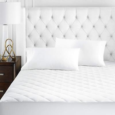 Hotel Collection Mattress Pad - Hotel Collection Series Microfiber Mattress Pad - Quilted, Hypoallergnic, and Wa