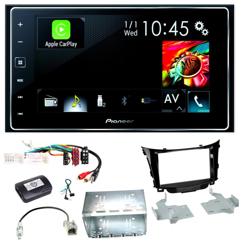 Pioneer SPH-DA120 CarPlay Bluetooth AppRadio Einbauset für Hyundai i30 GD GDH