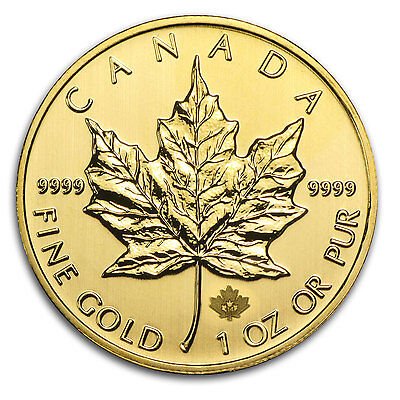 2014 1 oz Gold Canadian Maple Leaf Coin - Brilliant Uncirculated - SKU #85688