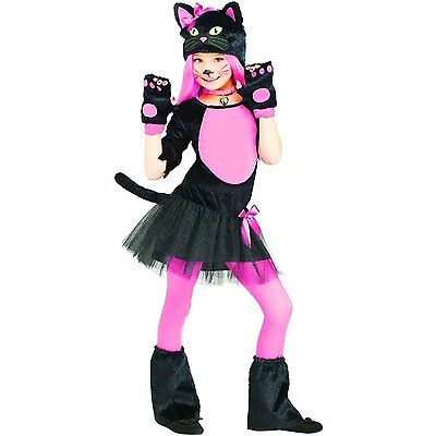 Miss Kitty - Child Cat Costume